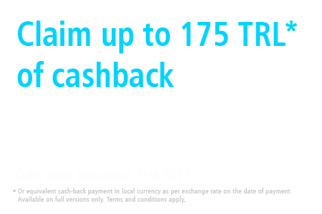 Corel Multi-Product Cashback Promotion
